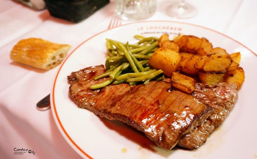 【2015巴黎美食】在地人推薦好吃又便宜的牛排!LE LOUCHEBEM @陳小沁の吃喝玩樂