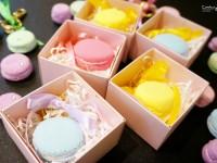 ♥喜喜♥婚禮小物DIY 馬卡龍鑰匙圈 (含教學分享) @陳小沁の吃喝玩樂