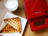【開箱】recolte Quilt格子三明治機 日本必買家電!!! @陳小沁の吃喝玩樂