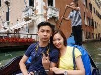 【義大利DAY3-1】威尼斯貢多拉船→花神咖啡廳→嘆息橋 @陳小沁の吃喝玩樂
