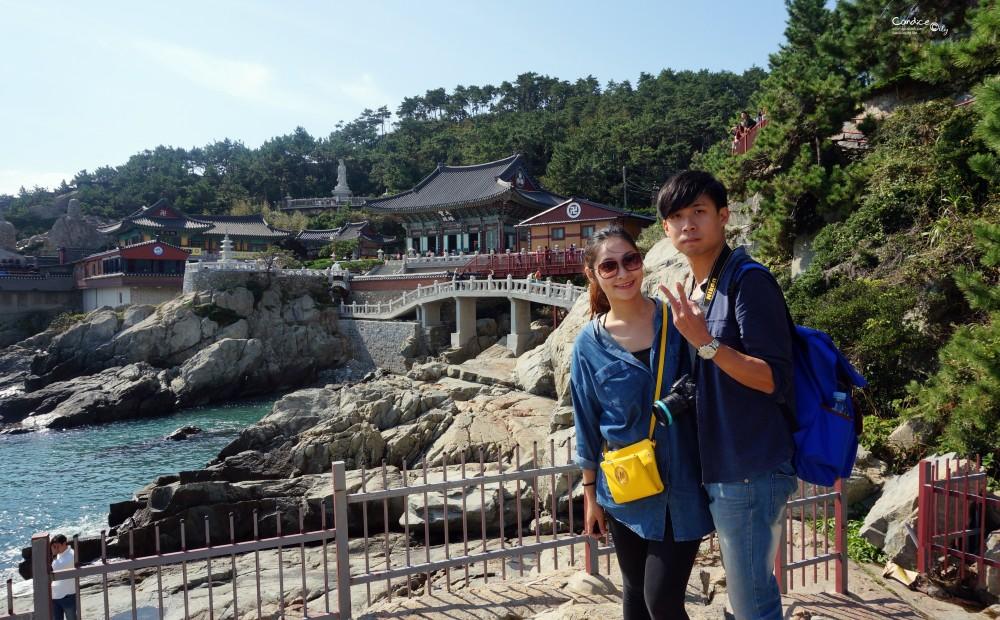 釜山景點♥海東龍宮寺 最靠近海邊的寺廟,得男佛必訪! @陳小沁の吃喝玩樂