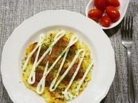 【0失敗料理食譜】培根大阪燒 自製豬排醬美味又健康! @陳小沁の吃喝玩樂