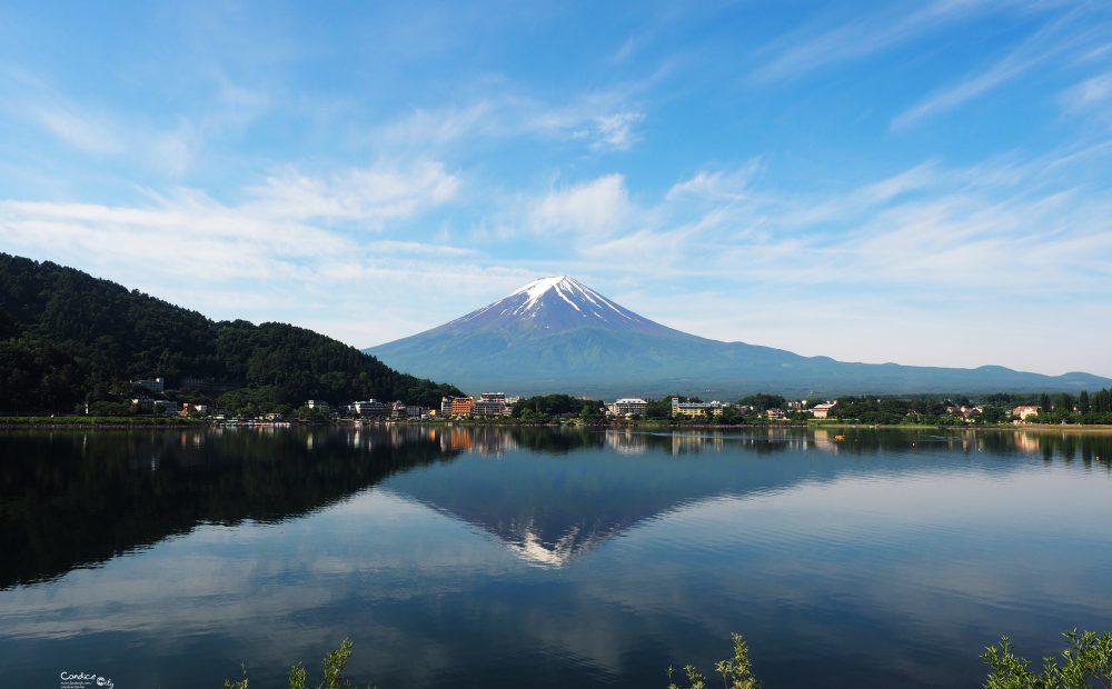 河口湖富士山》帶你們看逆富士攻略,選好地點加早起! @陳小沁の吃喝玩樂