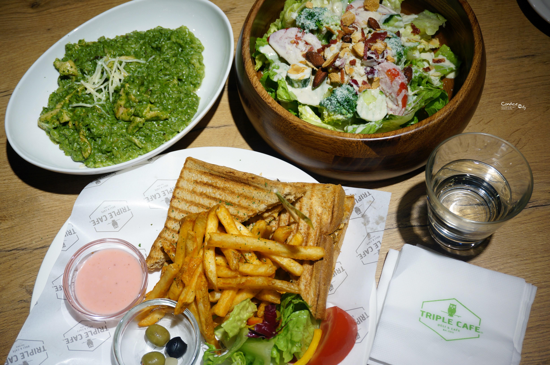 《內湖》Triple cafe大湖公園對面 親子餐廳/寶可夢餐廳 @陳小沁の吃喝玩樂
