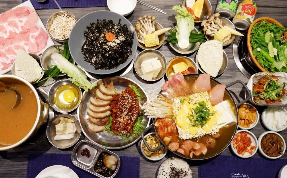 新沙洞韓國涮涮鍋|部隊鍋豬腳雞湯鍋,台北韓式料理推薦(東區) @陳小沁の吃喝玩樂