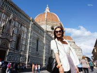 【義大利DAY5】THE MALL 佛羅倫斯領主廣場 烏菲茲美術館 聖母百花大教堂 但丁餐廳 @陳小沁の吃喝玩樂