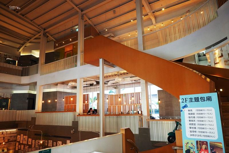 叉子餐廳|台中親子餐廳推薦,好好玩的X子餐廳!大包廂餐廳推薦!
