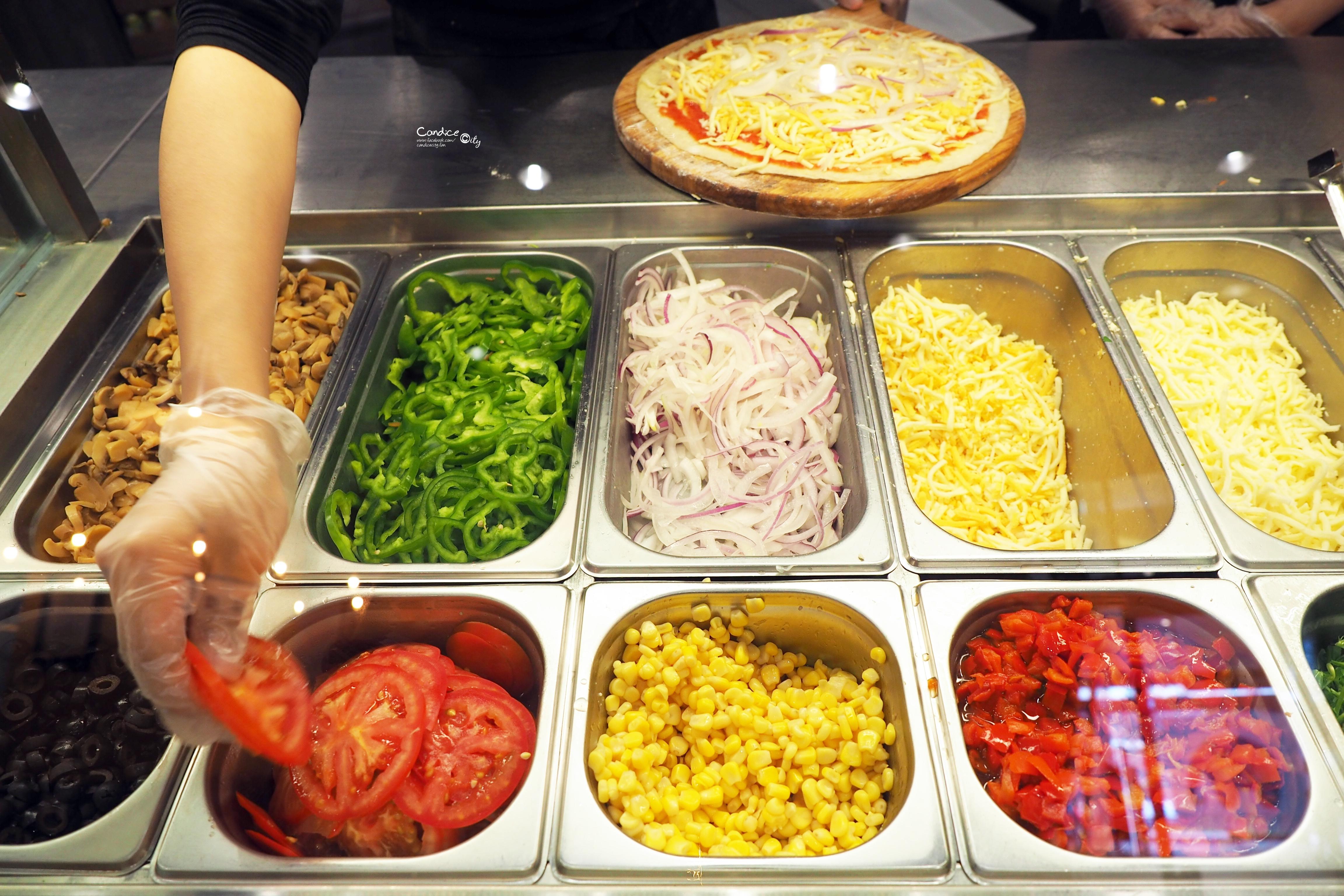 《南港》ELEPHANT PIE 自己吃的PIZZA自己配,美味平價比薩推薦(中信園區) @陳小沁の吃喝玩樂