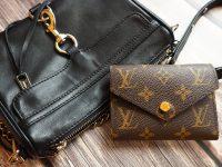 【新包開箱】LV經典花色短夾+rebecca minkoff mini mac黑色銀鍊! @陳小沁の吃喝玩樂