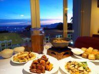 夜。後花園景觀餐廳|陽明山餐廳,浪漫夜景超美!有中餐西餐可選! @陳小沁の吃喝玩樂
