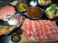 有間火鍋|45oz牛肉盤+海鮮痛風鍋,打卡再送肉!小巨蛋美食! @陳小沁の吃喝玩樂