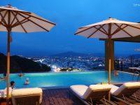【台東住宿推薦】THE GAYA HOTEL渡假酒店,無邊際泳池夜景超美!超讚台東住宿評價好! @陳小沁の吃喝玩樂