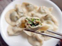 荊記水餃|好Q的水餃皮,胡瓜水餃+小白菜水餃好美味! @陳小沁の吃喝玩樂