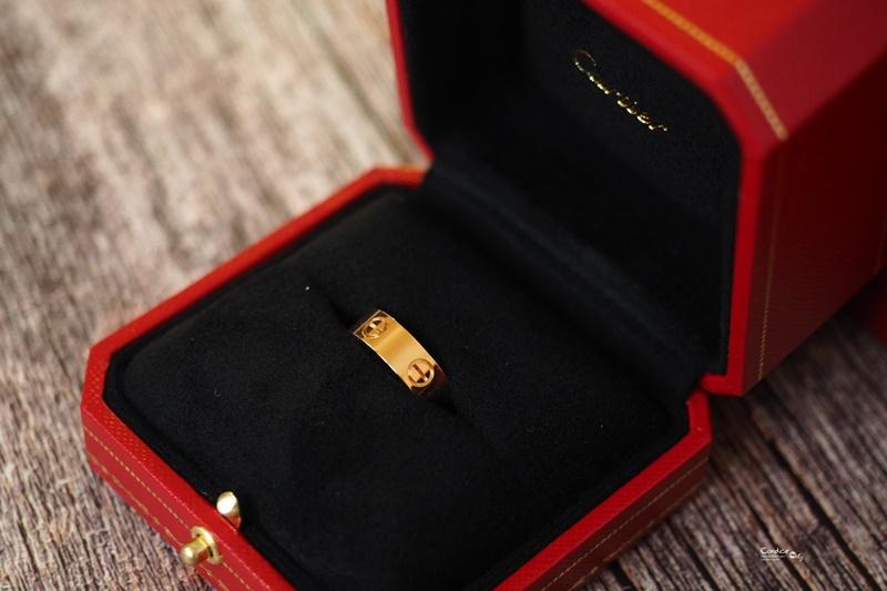♥喜喜♥對戒最佳選擇cartier戒指LOVE婚戒,3年終於等到你了!
