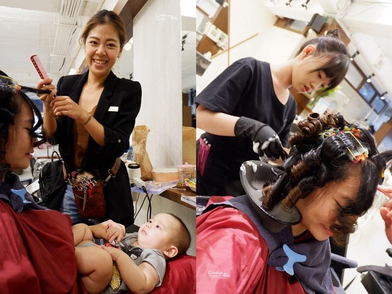 【髮型】我要Q髮暖暖過個冬吧!髮根燙+溫塑燙+紫棕染,BONBON HAIR!