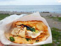 黃記蔥油餅|超級好吃的台東蔥油餅NO1,台東必吃,濱海公園旁! @陳小沁の吃喝玩樂