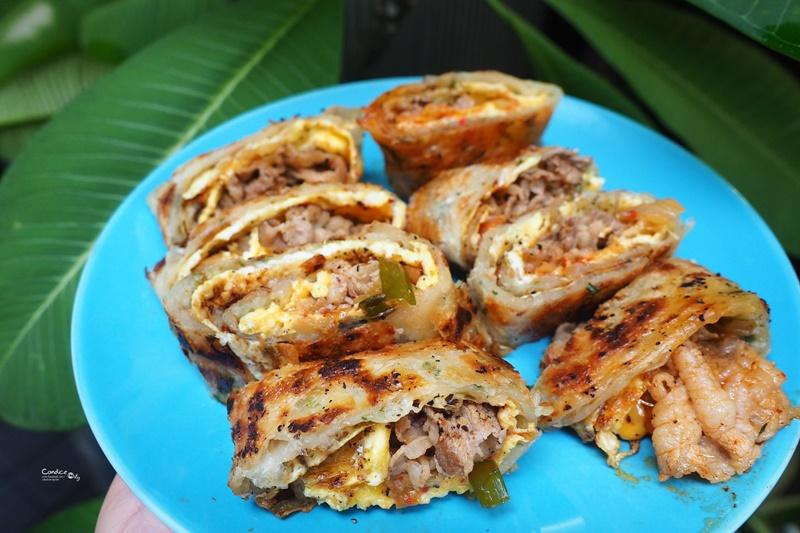 好遞食 肉蛋炭烤三明治|超澎拜肉蛋三明治!通化夜市美食,台北碳烤三明治推薦!