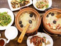 六必居潮州一品沙鍋粥 分店|螃蟹粥+土雞肉粥+一堆熱炒!超滿足(板橋美食) @陳小沁の吃喝玩樂
