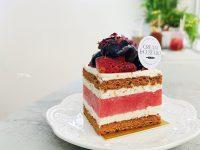 Cream & Custard|清爽特別的西瓜蛋糕,市政府下午茶推薦! @陳小沁の吃喝玩樂