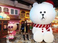 LINE FRIENDS世界巡迴之旅特展|台北展覽在華山,帶你環遊世界超好拍! @陳小沁の吃喝玩樂