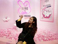 粉紅閨蜜期間限定店|華山免費展覽!滿滿粉紅色,Hello Kitty,美樂蒂,大耳狗,超好拍IG打卡粉色天地! @陳小沁の吃喝玩樂