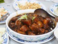 川揚郁坊小館|令人驚豔的台北厲害東坡肉,樟茶鴨是招牌!菜單需預訂喔(小南門美食) @陳小沁の吃喝玩樂