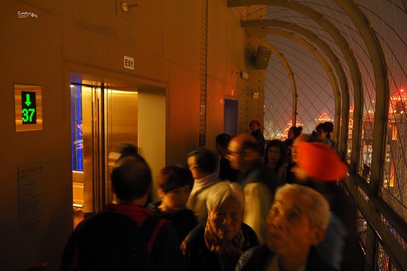【澳門景點】澳門巴黎人觀景台,澳門巴黎鐵塔看澳門夜景超推薦!