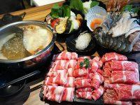 鍋台銘火鍋|超彭湃海鮮肉肉大餐!吃得超過癮,雙人套餐線上訂位更優惠(東區美食) @陳小沁の吃喝玩樂