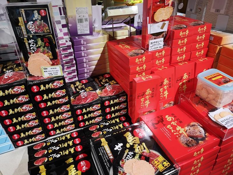 櫻之馬場城彩苑|熊本城彩苑必去,伴手禮多,九州必買雞皮+馬肉餅乾攻略!