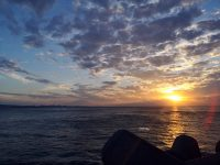 美國村日落海灘|沖繩自由行最愛景點!沖繩必去海灘,可遠眺摩天輪超悠閒! @陳小沁の吃喝玩樂