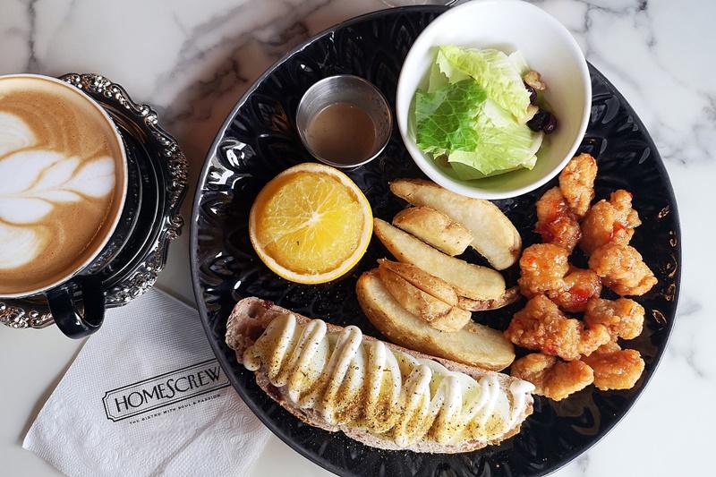 Homescrew Bistro|雲林早午餐/咖啡廳推薦,超好拍英倫風(雲林斗六美食)