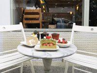 填一點甜點手作咖啡店|輕盈不膩的奶油蛋糕,行天宮甜點推薦! @陳小沁の吃喝玩樂