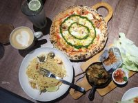 請請義大利餐廳 市政府店|超愛的蟹膏海鮮細扁麵(含菜單) @陳小沁の吃喝玩樂