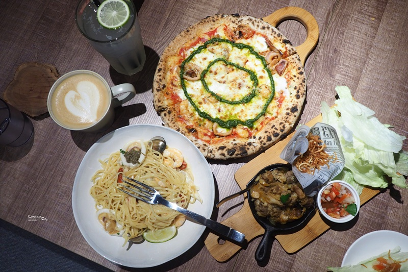 請請義大利餐廳 市政府店|超愛的蟹膏海鮮細扁麵(含菜單)