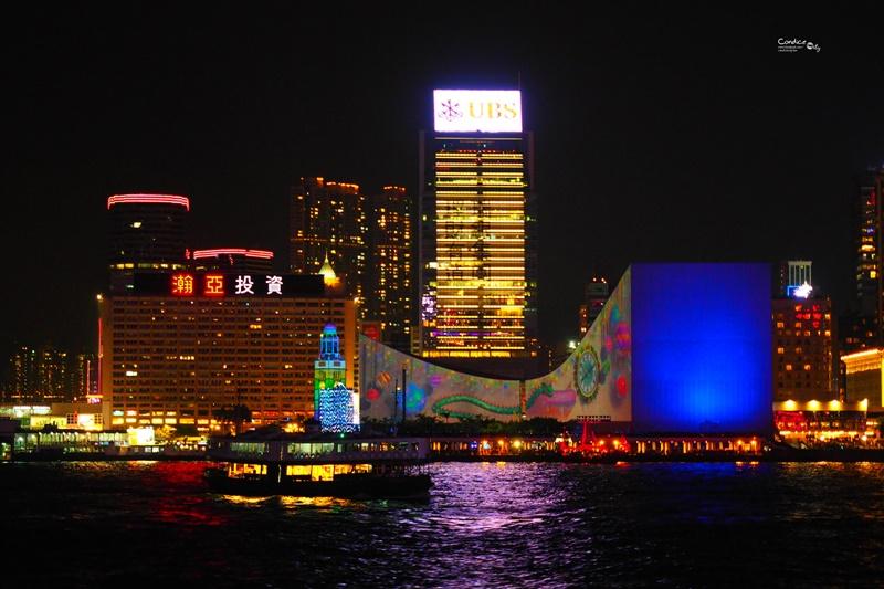 【香港景點】張保仔號夜遊維多利亞港,船上看幻彩詠香江!超狂!