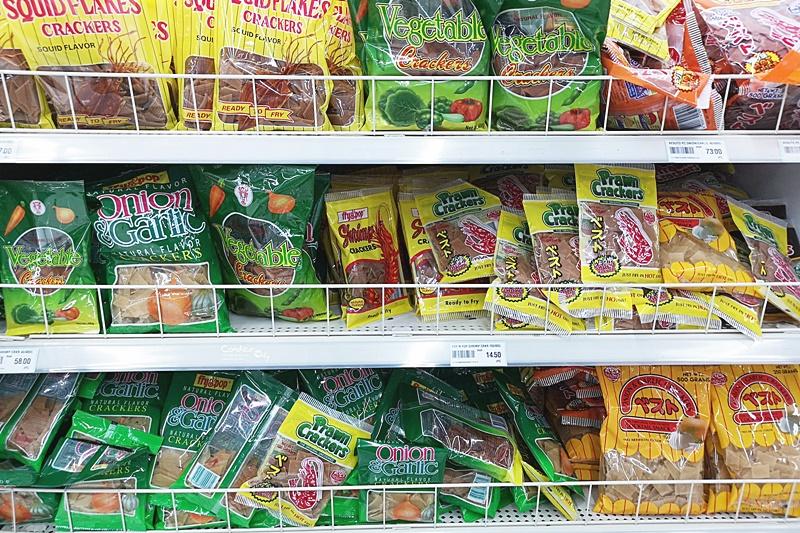 2020菲律賓宿霧必買伴手禮|TOP10超市必買零食(豬皮餅乾,芒果乾,泡麵,木瓜香皂)