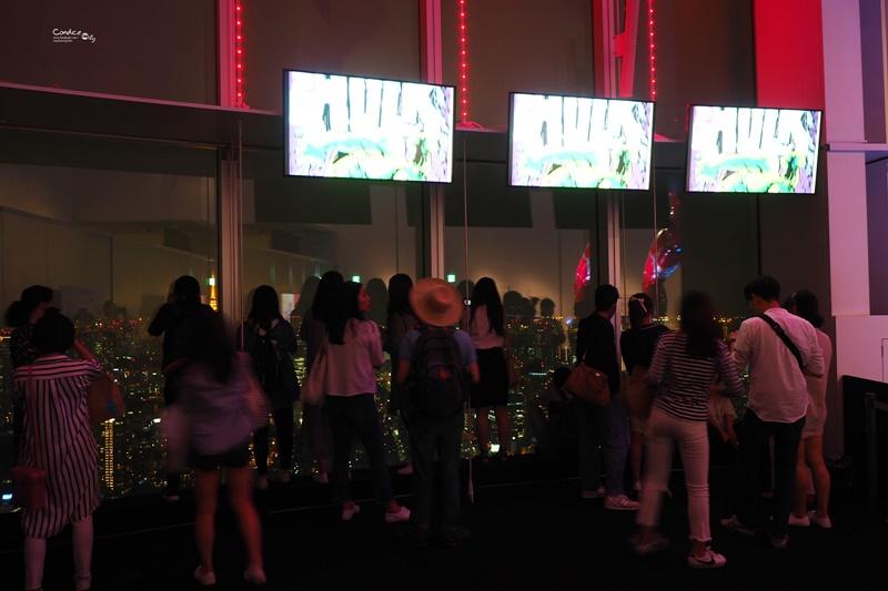 【東京景點】六本木Hills Tokyo city view 東京夜景推薦 超美!還有marvel展!