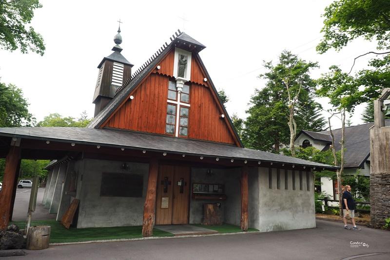 【輕井澤景點】聖保羅教堂,舊輕井澤銀座通走走!伴手禮在這買!
