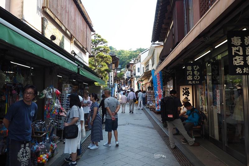 【鎌倉景點】江之島,景點美食一次看!超好玩又很悠哉!鎌倉必訪景點