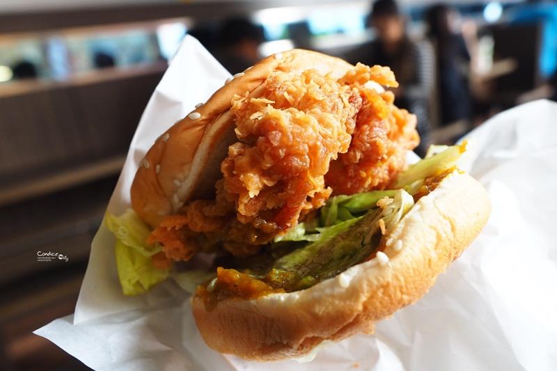 丹丹漢堡港和店|高雄早餐推薦,鹹酥雞雞肉羹+漢堡好吃!