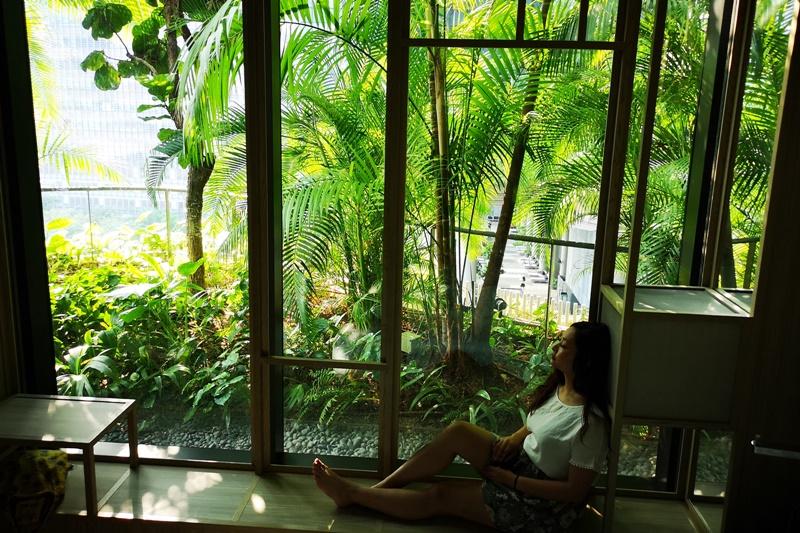 新加坡皮克林賓樂雅飯店|像住在森林中,超好拍網美叢林蘭花房!新加坡無邊際泳池飯店推薦!