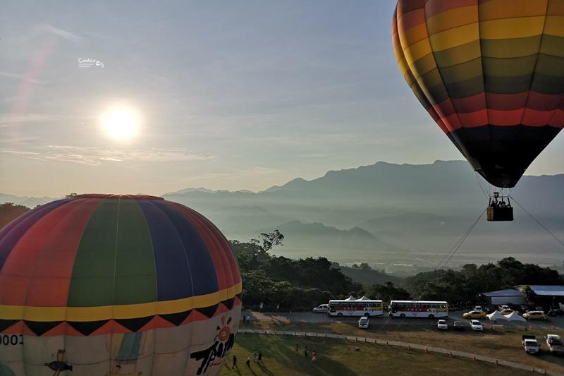 2019台東熱氣球嘉年華,鹿野高台看熱氣球囉!交通住宿光雕全攻略!