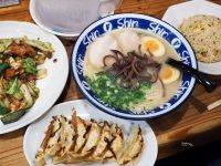 shin-shin 純情拉麵天神本店|連炒飯都好吃的熱門九州拉麵排隊店! @陳小沁の吃喝玩樂