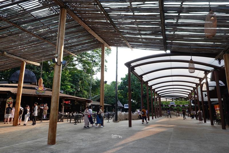 新加坡夜間野生動物園|全世界第一座晚上開的動物園!搭乘遊園車看動物超有趣!