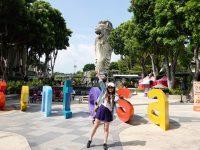 魚尾獅塔|新加坡景點,跟魚尾獅爸爸合照,觀景台美景! @陳小沁の吃喝玩樂