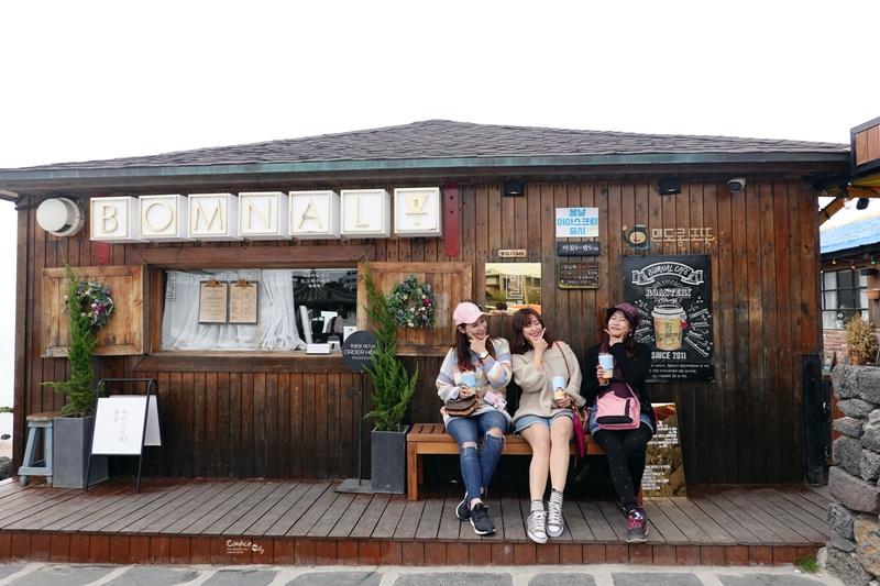春日咖啡&GD咖啡|濟州島咖啡廳!春日咖啡廳好可愛,超好拍!GD咖啡廳好時尚! @陳小沁の吃喝玩樂