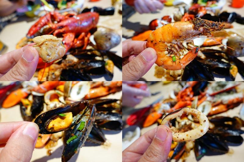 Big Pier 大碼頭美式手抓海鮮餐廳 桃園華泰店|大口吃龍蝦手抓海鮮超過癮!