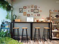白舍 plain house|花草間的文藝咖啡廳,南京復興美食! @陳小沁の吃喝玩樂