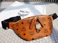【開箱】MCM Stark 腰包/胸包(小)超好裝又好看!Fursten Belt Bag in Visetos @陳小沁の吃喝玩樂