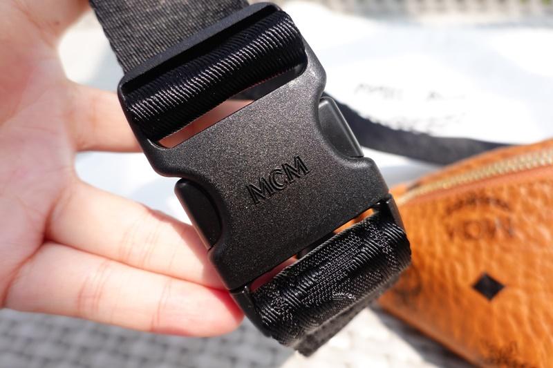 【開箱】MCM Stark 腰包/胸包(小)超好裝又好看!Fursten Belt Bag in Visetos